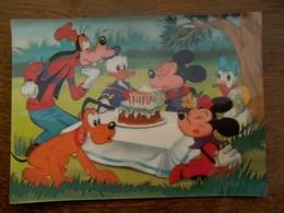 Oude Postkaart  Quarantieme Anniversaire DE  MICKEY - Disneyworld