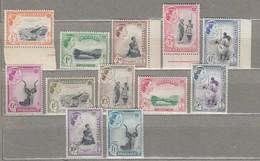 SWAZILAND 1956 Mi 55-66 SG 53-64 MNH/MLH(**/*)  Look Scan #23504 - Swaziland (...-1967)