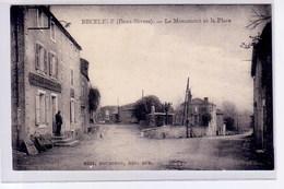 Beceleuf, Deux Sevres, Le Monument Et La Place - France