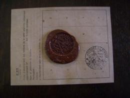 Tampon De Cire: Oblitération 1er Jour Decazeville 1951 - Journée Du Timbre - Marcophilie - Timbres