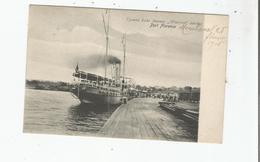 "PORT FLORENCE (KISUMU)  UGANDA LAKE STEAMER ""WINIFRED"" LEAVING 1906 - Kenya"