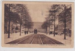 Amsterdam Overtoom Met Hoofdgebouw Der Gemeentetram # 1922   1890 - Amsterdam