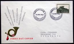 Denmark 1966 Cz.Slania  FDC MiNr.448 Conservation Series( Lot 6577) Barrow / Brouette / Karren / Carretilla - FDC