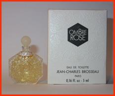 Jean Charles BROSSEAU : Ombre Rose, Eau De Toilette, 5 Ml Version 1981, Parfait état - Miniatures Modernes (à Partir De 1961)