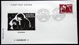 Denmark 1988 Mütterfürsorge / Maternity Care / Les Soins De Maternité MiNr.929 FDC ( Lot Ks) FOGHS COVER - FDC