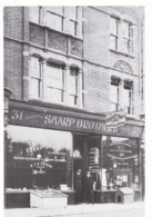 AQ02 Reproduction Postcard - Sharp Brothers' Decorating And Carpentry Materials - Shops