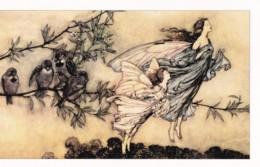 AQ02 Peter Pan At Kensington Gardens - Fairies, Birds - Fairy Tales, Popular Stories & Legends