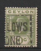 MiNr. 170 Sri Lanka / 1911, 1. Nov./1925. Freimarken: König Georg V. Neue Antillen-Zeichnung, - Territoire Britannique De L'Océan Indien
