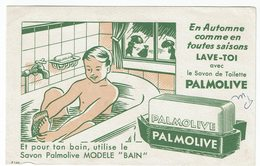 """BUVARD """" PALMOLIVE """" En Automne Comme En Toutes Saisons LAVE TOI Avec) - Papeterie"""