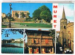 31 MURET 4 VUES 1990 - Muret