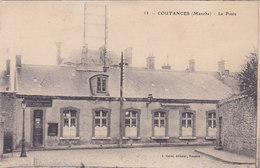 Manche Coutances La Poste éditeur J Sorel N°58 - Coutances