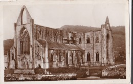AQ94 Tintern Abbey From S.W. - RPPC - Monmouthshire