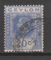 MiNr. 197 Sri Lanka / 1921/1927. Freimarken: König Georg V. - Britisches Territorium Im Indischen Ozean