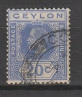 MiNr. 197 Sri Lanka / 1921/1927. Freimarken: König Georg V. - Territoire Britannique De L'Océan Indien