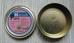 AC - KANZUK PASTILLE EMPTY MEDICINE VINTAGE TIN BOX 2008 - Matériel Médical & Dentaire