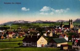 Kempten, Gesamtansicht, Feldpost 1916 - Kempten