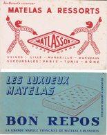 """BUVARD """" MATELAS """" Matlassor Et Bon Repos - Papeterie"""
