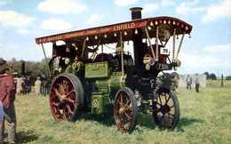 Compresseur Agricole Aveling Et Porter Showman's Traction N° 7612 De 1912 - Tracteurs