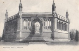 AO51 India Postcard - Memorial Well, Cawnpore - Undivided Back - India