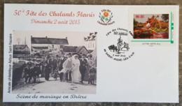 Montimbramoi - Fête Des Chalands Fleuris - SAINT ANDRE DES EAUX - 2015 - Frankreich