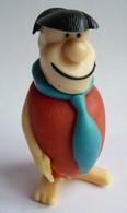 TRES RARE FIGURINE FRED (2) PIERRAFEU Publicitaire Montable MARGARINE BRABANTIA - FLINTSTONE 1967 - Figurines
