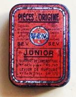 PETITE BOÎTE METAL VIDE S.E.V. JUNIOR Pièces D'origine LEVIER DE RUPTURE - Boxes