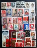 LOT DE 45 TIMBRES URSS - Russie & URSS