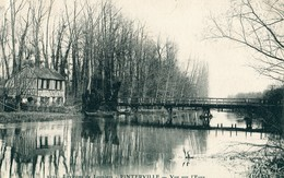 27 - Pinterville : Vue Sur L' Eure - Pinterville