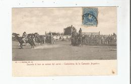 COSTUMBRES DE LA CAMPANA ARGENTINA 42 SACANDO A LAZO UN ANIMAL DEL CORRAL - Argentine