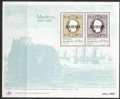 1980, Madeira, 62/63 Block 1, Erste Markenausgaben , MNH ** - Madeira