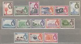 TRISTAN DA CUNHA 1954 Mi 14-27 SG 14-27 MVLH(**/*) #23510 - Tristan Da Cunha