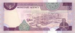 SAUDI ARABIA P. 22d 5 R 1983 UNC - Arabie Saoudite