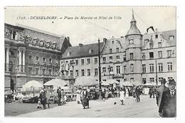 DUSSELDORF  -  Place Du Marché Et Hôtel De Ville  -  L 1 - Duesseldorf