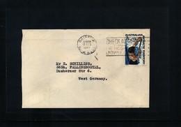 Australian Antarctic Terrritory 1969 Interesting Letter - Australian Antarctic Territory (AAT)
