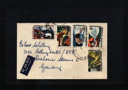 Australian Antarctic Terrritory 1965 Interesting Airmail Letter - Australian Antarctic Territory (AAT)