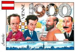 Illustrateurs - Illustrateur Bernard Veyri - Enghien Les Bains - Les Pays Européens - Autriche - Autographe - Signature - Veyri, Bernard