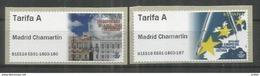 ATM MADRID CHAMARTIN 2018 MODELO CASA CORREOS Y EUROPA TARIFA  A - 1931-Today: 2nd Rep - ... Juan Carlos I