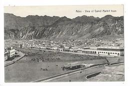 ADEN  -  View Of Camel Market Town   -  L 1 - Yémen