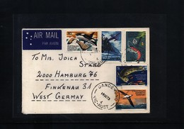 Australian Antarctic Terrritory 1973 Interesting Airmail Cover - Australian Antarctic Territory (AAT)