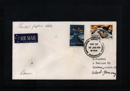 Australian Antarctic Terrritory 1974 Davis Interesting Airmail Cover FDC - Australian Antarctic Territory (AAT)