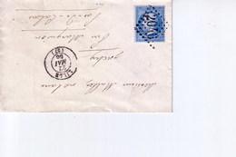 Pli De Lille  Pour  Inchy   1866 - Marcophilie (Lettres)