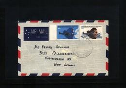 Australian Antarctic Terrritory Interesting Airmail Cover - Australian Antarctic Territory (AAT)