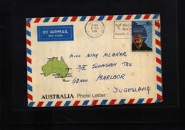 Australian Antarctic Terrritory 1982 Interesting Airmail Cover - Australian Antarctic Territory (AAT)