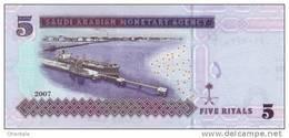 SAUDI ARABIA P. 32a 5 R 2007 UNC - Arabie Saoudite