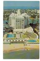 CPSM ETATS-UNIS FLORIDE MIAMI BEACH EDEN ROC HOTEL CABANA AND YACHT CLUB - Miami Beach