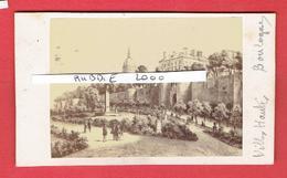 BOULOGNE SUR MER PAS DE CALAIS LA VILLE HAUTE VERS 1870 1880 PHOTOGRAPHE CHARDON 3 RUE RACINE A PARIS CDV PHOTOGRAPHIE - Lieux