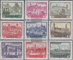 Polen 1209-1217 (completa Edizione) MNH 1960 Storico Città - 1944-.... Republik