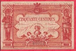 50 Centimes Chambre De Commerce De Poitiers 1915  Dans L 'état - Chambre De Commerce