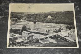 4157   LA ROCHE EN ARDENNE, PONT DU GRAVIER - La-Roche-en-Ardenne