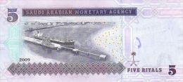 SAUDI ARABIA P. 32b 5 R 2009 UNC - Arabie Saoudite